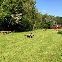 Fishers Farm Park Grass Walkways