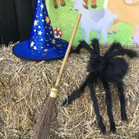 Fishers Farm Park Halloween Happy Hauntings photo booth props