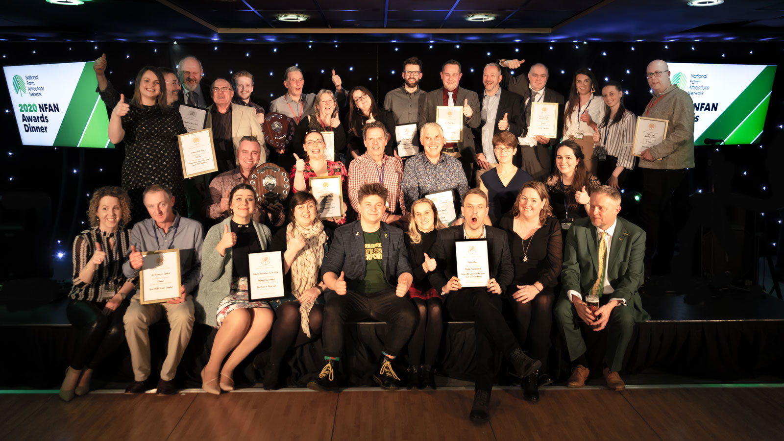 Fishers Farm National Farm Attractions Network Awards 2020