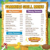 Fishers Farm Park Farmers Grill Menu
