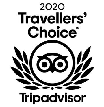 2020 Travellers' Choice Tripadvisor Award
