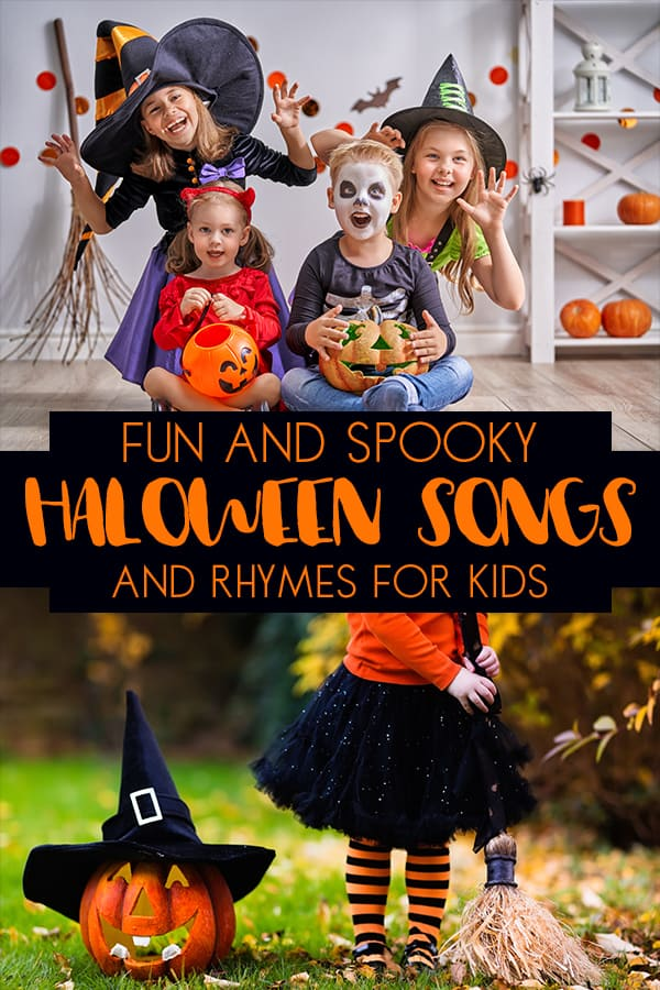 Rainy Day Mum fun and spooky Halloween songs and rhymes for kids