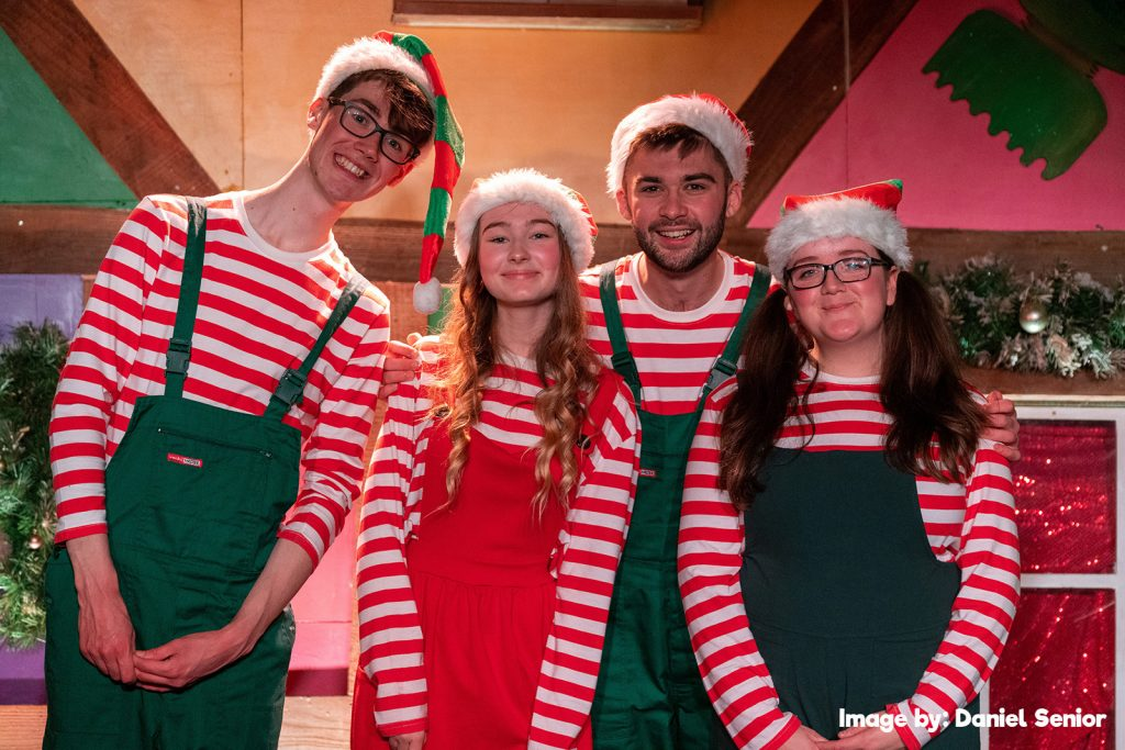 Fishers Farm Park Magical Christmas Show elves