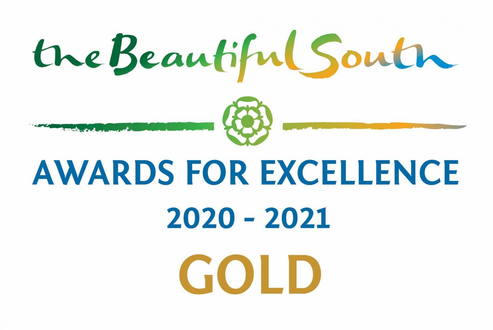Fishers Farm Park Gold Win award